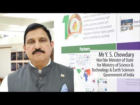 Mr YS Chowdary, Minister of State for Science & Technology and Earth Sciences, Government of India