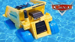 Disney Cars Colossus XXL Camion Benne Hydro Wheels Jouet Piscine Bain Water Toy Review