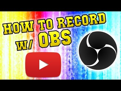 HOW TO: Record with OBS, 1080p, 60fps, Bitrate, Boost Performance