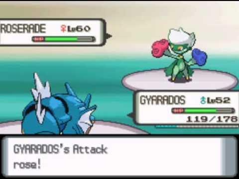 Pokemon Diamond Mono Water - Champion Cynthia