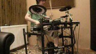 Onur Ertem on  Roland V-Drum TD-9 / EZ Drummer 2009 ( Cosmo Sapien)