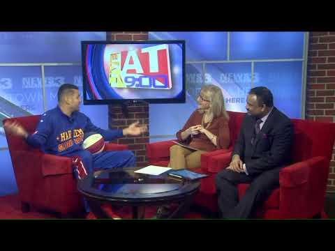 The Harlem Globetrotters visit Memphis