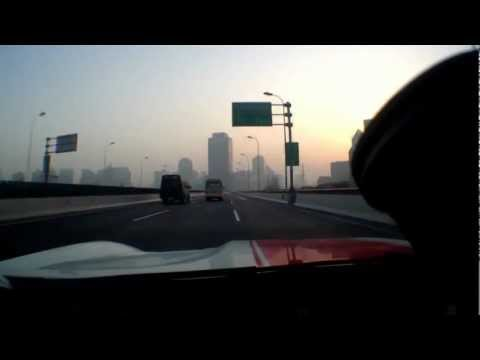 Ferrari 599GTO China Shanghai City Crazy driver 2 New Perspective