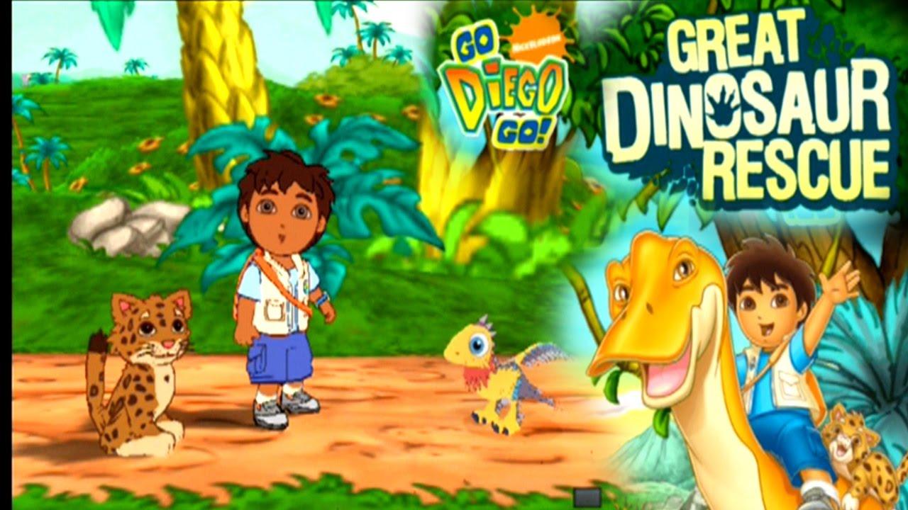 Go, Diego, Go! Great Dinosaur Rescue ... (PS2) - YouTube