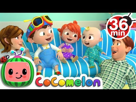Thumbnail: Laughing Baby with Family | +More Nursery Rhymes & Kids Songs - ABCkidTV