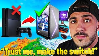 Baixar Nickmercs *IMPORTANT MESSAGE* to ALL Competitive CONSOLE PLAYERS! - Fortnite Moments