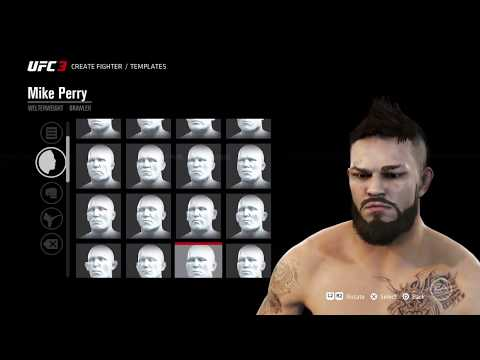 UFC 3 how to make Mike Perry