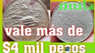 así es la moneda mula que vale más de $4 mil pesos...