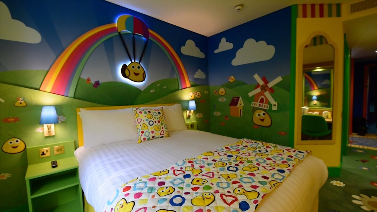 Alton Towers New CBeebies Land Hotel - YouTube | cbeebies furniture
