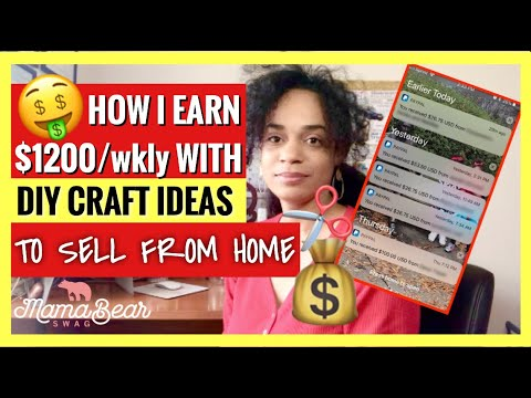 10-craft-ideas-to-sell-from-home-|-how-i-make-$1200-weekly-|-work-from-home-jobs-for-moms