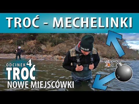 TROĆ ➤ MECHELINKI - opis łowiska