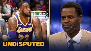 Stephen Jackson: 'I wouldn't play' LeBron the rest of the year if I'm the Lakers | NBA | UNDISPUTED