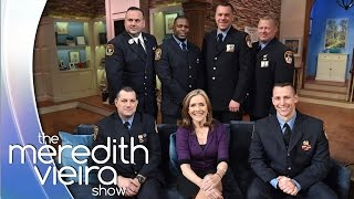 One World Trade Center Rescuers | The Meredith Vieira Show