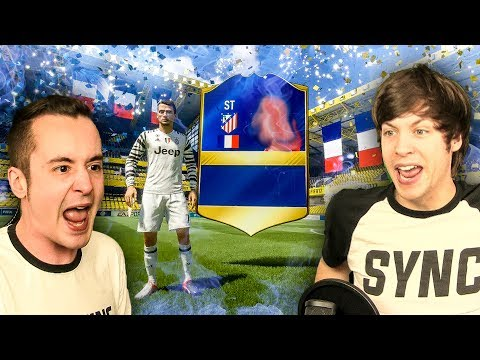 MY LUCKIEST PACK EVER!!!! - FIFA 17 TOTS PACK OPENING