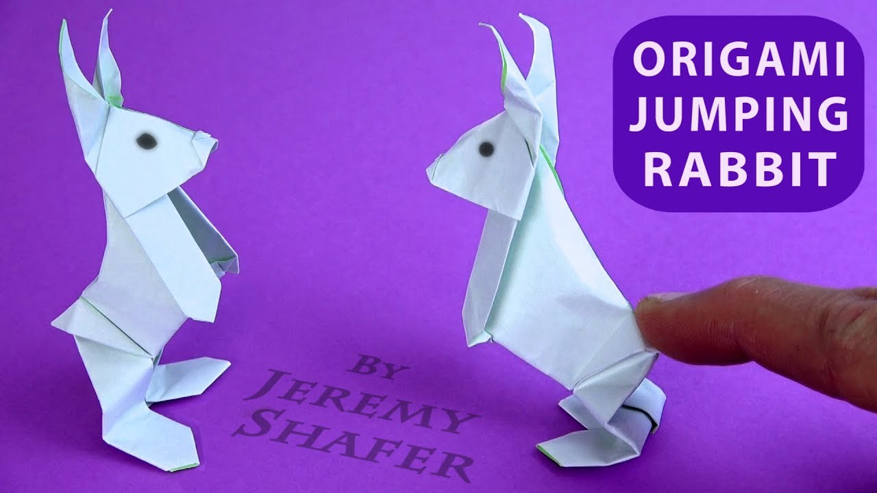 How to make an Origami Rabbit - YouTube | 720x1280