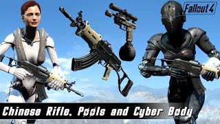 Fallout 4 Mods Week 14 - Chinese Rifle, Pools and Cyber Body