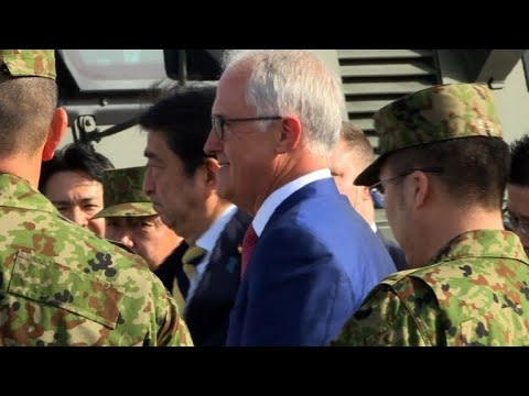 Japan, Australia push for defence pact amid regional tension