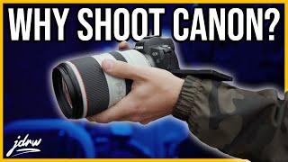 Why I still shoot Canon