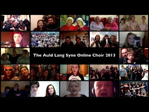 Auld Lang Syne Online Choir: Hogmanay Live 2013 - BBC One Scotland