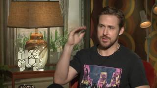 The Nice Guys: Ryan Gosling Official Movie Interview