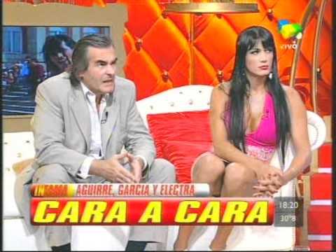 ELECTRA DUARTE  en Infama contra Garcia y Adriana Aguirre - 22-3-11 pt 3