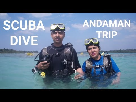 SCUBA DIVING | स्कूबा डाइविंग | WATER SPORTS AT HAVELOCK ISLAND | ANDAMAN TRIP |