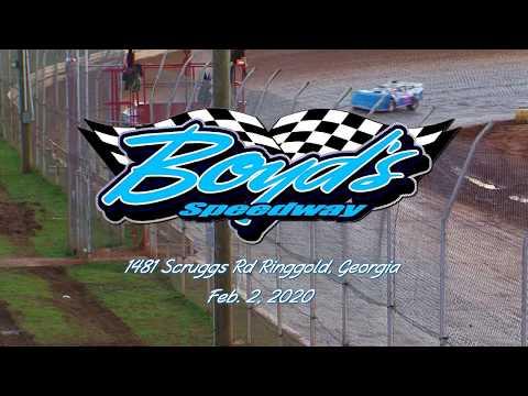 602 Sportsman @ Boyds Speedway Cabin Fever Feb  2, 2020