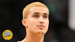 Does Kyle Kuzma's big weekend mean he's staying with the Lakers? | The Jump