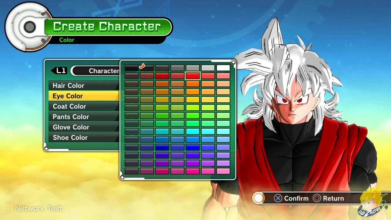 dragon ball xenoverse all race character creation english online