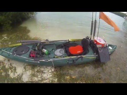 Key west kayak fishing going old school youtube for Key west kayak fishing