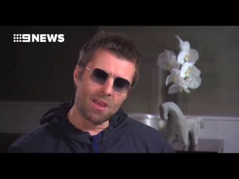 Liam Gallagher interview, Australia, January 10, 2018