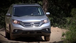 2012 Honda CR-V Off-Road Review & Drive