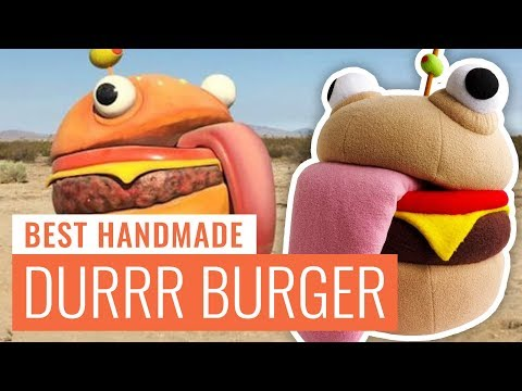 Durrr Burger / Beef Boss (Fortnite) Plush Toy