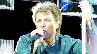 Bon Jovi - You Give Love A Bad Name (Live - Etihad Stadium, Manchester UK, June 2013)