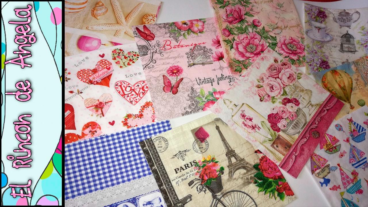 Decoupage donde compro las servilletas decoradas para - Servilletas de papel decoradas para manualidades ...