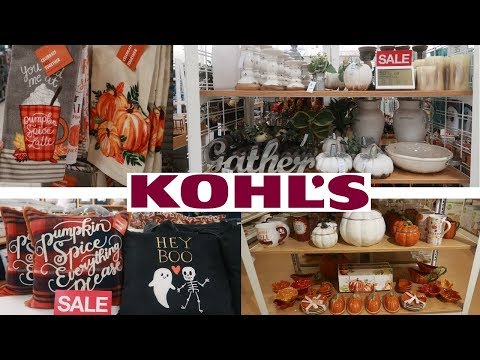 KOHLS FALL HOME DECOR!!! COME WITH ME