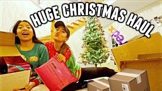 CHRISTMAS HAUL 2018!! Too Faced, MAC, NYX and more!   Vlogmas Day 1