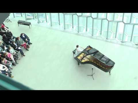 Ásta Dóra Finnsdóttir's first solo recital in Harpa, Reykjavik, Iceland