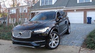 Volvo XC90 2015 тест-драйв (новый Вольво ХС90 дизель обзор)(Новый XC90 стал более массивным, элегантным и просторным. Автомобиль по-прежнему остается семиместным. В..., 2015-12-08T13:41:58.000Z)