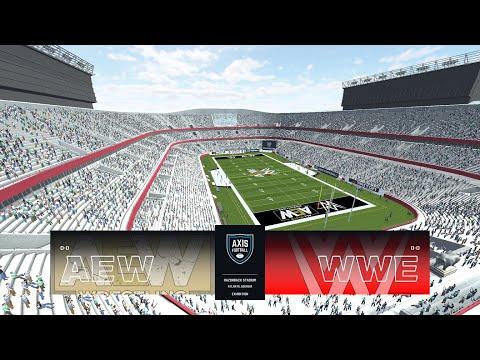 WWE vs. AEW - HALFTIME HEAT: STADIUM STAMPEDE!