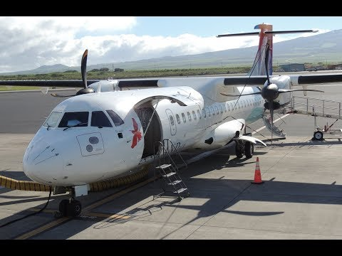 *Full Flight* Island Air ATR-72 [N942WP] OGG-HNL on WP469