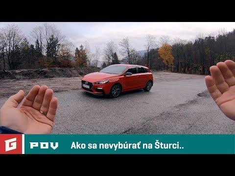 Hyundai i30 1,4 T-GDi N Line - POV TEST - GARAZ.TV - Rasto Chvala