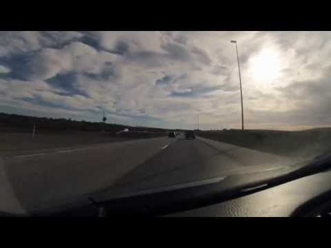 Driving from Reykjavik airport to Thingvellir Nation Park