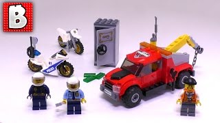 LEGO City Set Tow Truck Trouble 60137! Live Build & Review | BrickVault LIVE