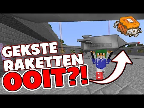 GEKSTE RAKETTEN OOIT?! - Minecraft TDT MODPACK S2 #30