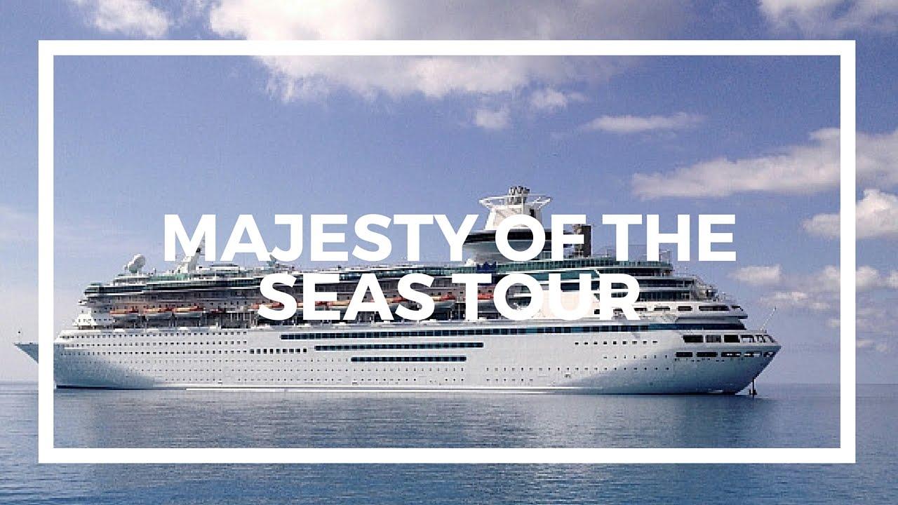 Royal Caribbean Majesty Of The Seas Tour Youtube