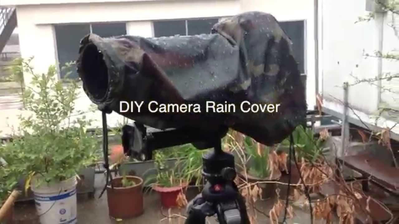 DIY Camera Rain Cover - YouTube
