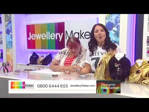 Wirework Brooches with Alison Tarry - JewelleryMaker DI LIVE 29/07/15