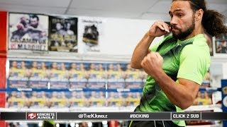 5 Minute Intense Shadow Boxing With Keith Thurman | Truehd