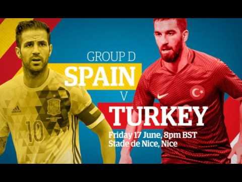 Spain Vs Turkey Online For Free Live Hd Stream Watch In Hdtv Uefa Euro 2016 1